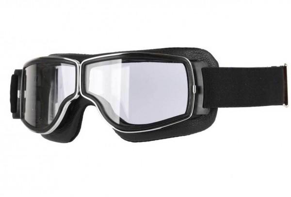 AVIATOR Brille T3 schwarz chrom transparent