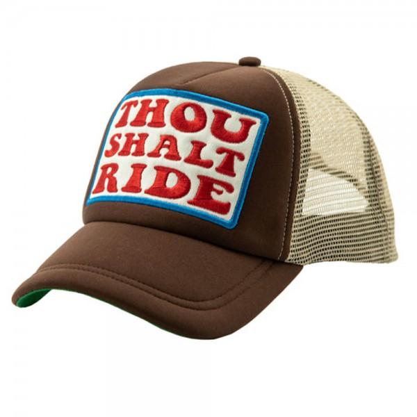 13 1/2 MAGAZINE TSR Trucker Hat brown