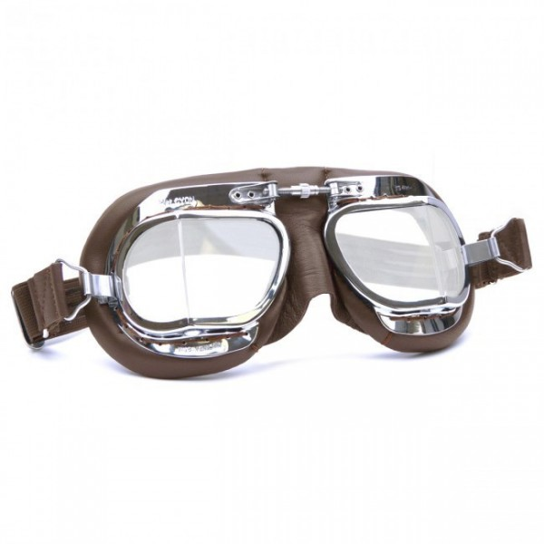"HALCYON Goggles - ""Mark 49 Compact"" - brown"