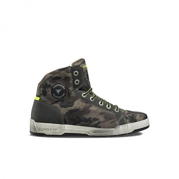 STYLMARTIN Motorrad Sneaker Raptor in Camouflage