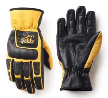 """FUEL Handschuhe - """"Moto X"""" - gelb & schwarz"""