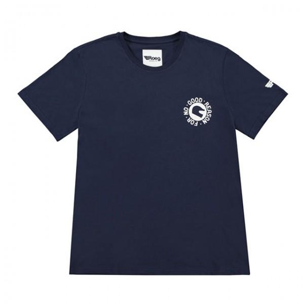 ROEG T-Shirt Peruna Blau