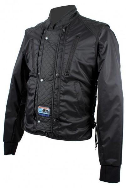 "VANSON Multi Functional Jacket - ""Streamliner Vest"" - black & neon"