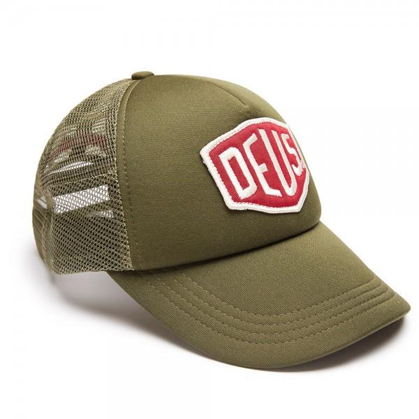 "DEUS EX MACHINA Hat - ""Colour Shield Trucker"" - khaki"