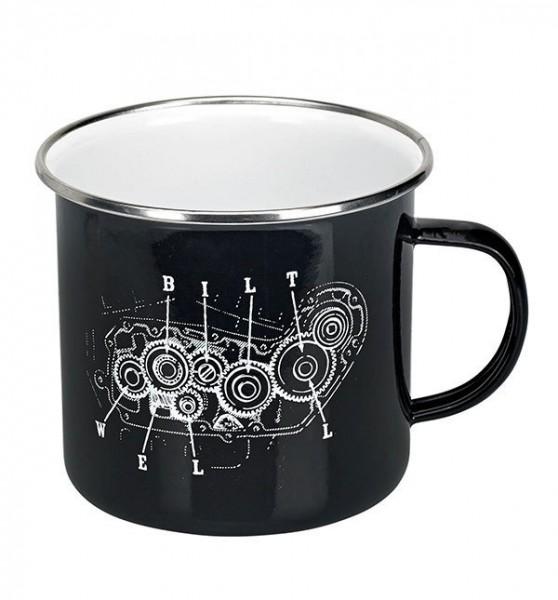 "BILTWELL Mug - ""Camp Mug Quad"" - black"