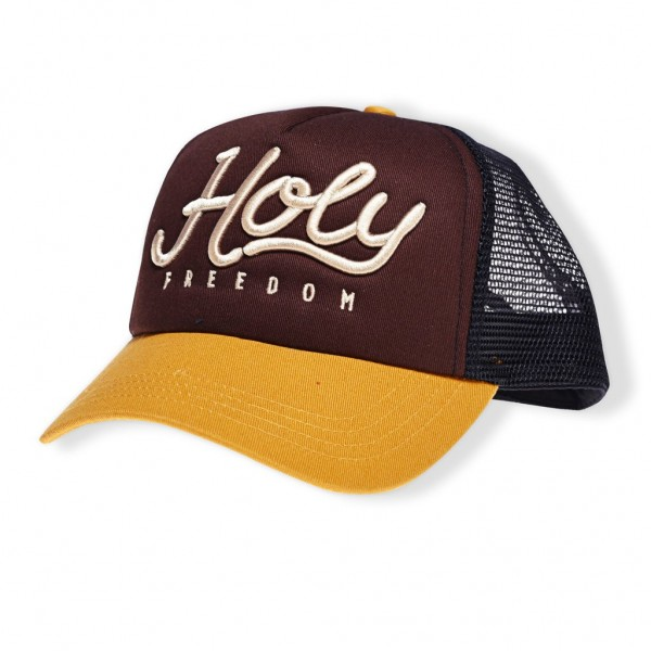 """HOLY FREEDOM Hat - """"Jats"""" - brown"""