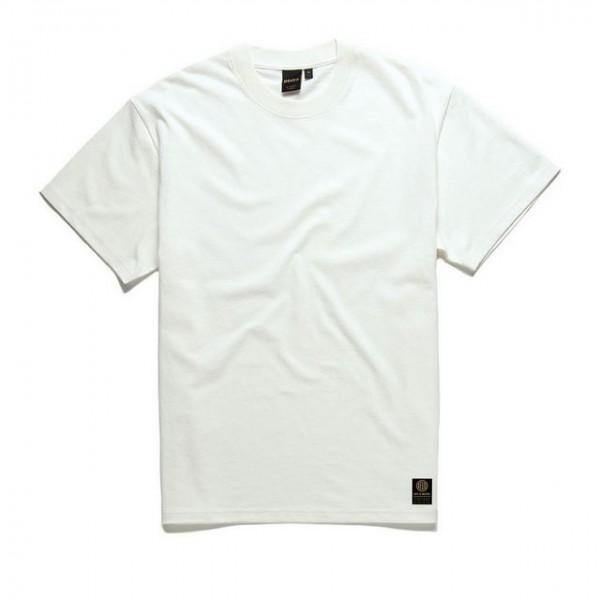 DEUS EX MACHINA T-Shirt Plain Military Tee in Vintage White