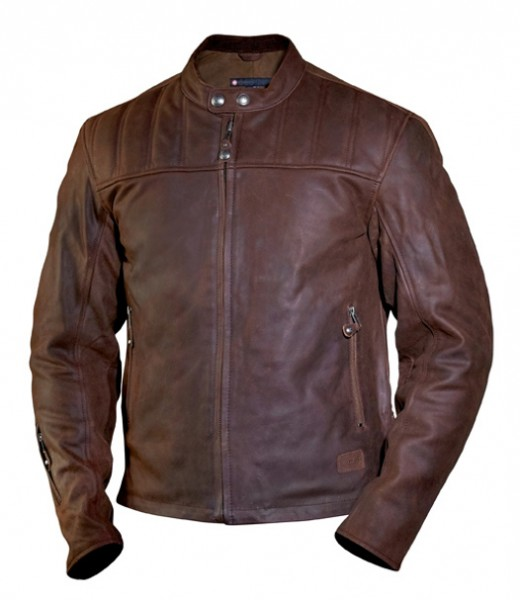 "ROLAND SANDS Jacket - ""Enzo"" - mahogany brown"