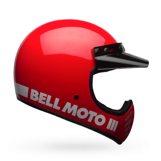 """BELL Moto 3 - """"Classic Red"""" - ECE"""