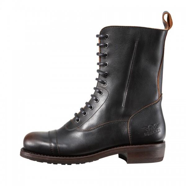 "ROKKER Motorcycle Boots - ""City Racer 11"" - antique black"