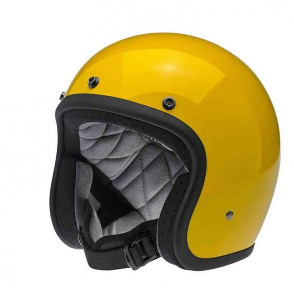 Biltwell Bonanza Safe-T Yellow with DOT