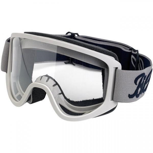 BILTWELL Cross Brille Moto 2.0 Goggle Script Titanium