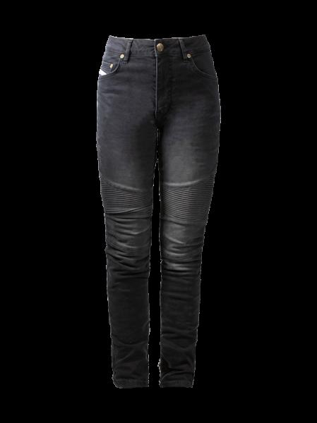 JOHN DOE Women Jeans Betty Biker black
