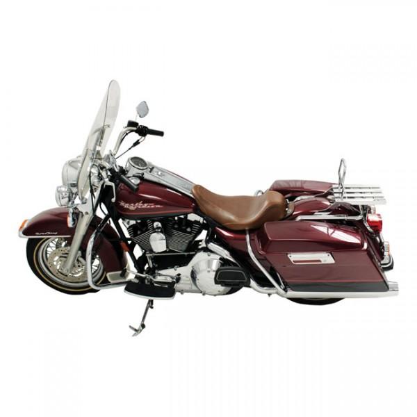 """MUSTANG Sitz - """"Mustang, Wide Tripper solo seat"""" - 97-07 FLHR; 06-07 FLHX(NU)"""