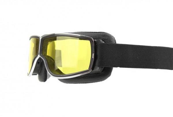 AVIATOR Goggles T3 black chrome yellow
