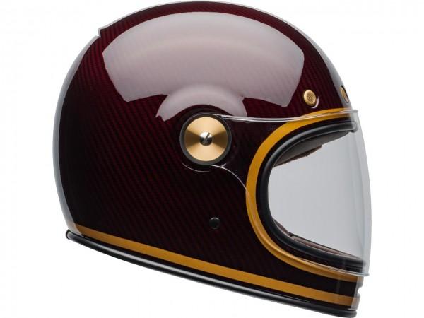 BELL Bullitt Helmet Carbon DLX Transcend Candy Red Gold ECE