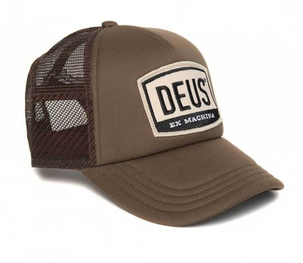 "DEUS EX MACHINA Cap - ""Moretown Trucker"" - braun"