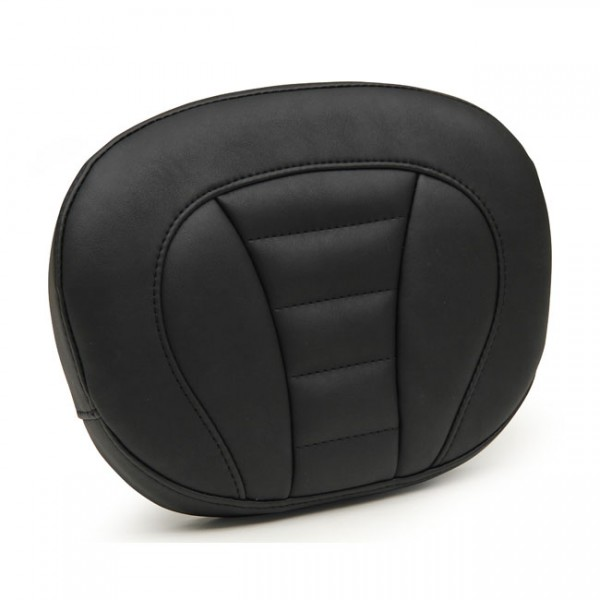 """MUSTANG Seat - """"Mustang, sissy bar back pad. Black. Deluxe"""" - 97-20 Touring"""