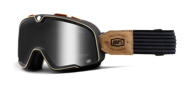"100% BARSTOW - ""Hudson"" - vintage motocross goggles"