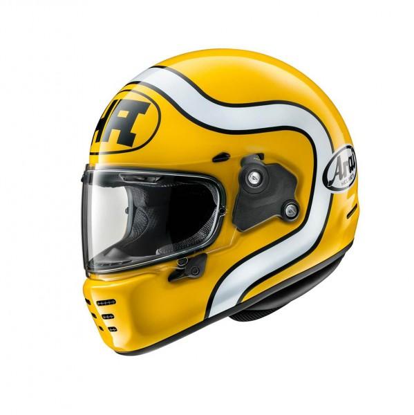 "ARAI Concept-X ""HA Yellow"" Integralhelm ECE"