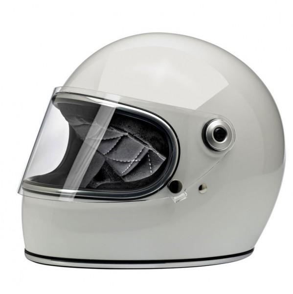 Biltwell Gringo S Full Face Helmet White with ECE-DOT