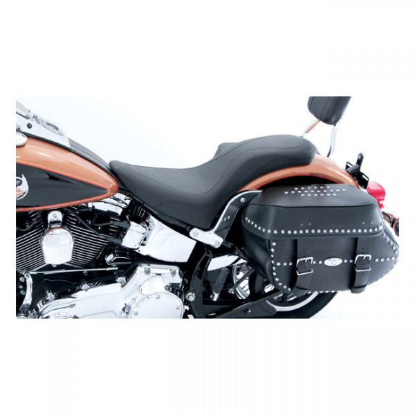 """MUSTANG Sitz - """"Mustang, Daytripper 2-up one-piece seat"""" - 00-06 Softail (NU)"""