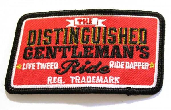 """DGR Aufnäher - """"Live Tweed Ride Dapper"""""""