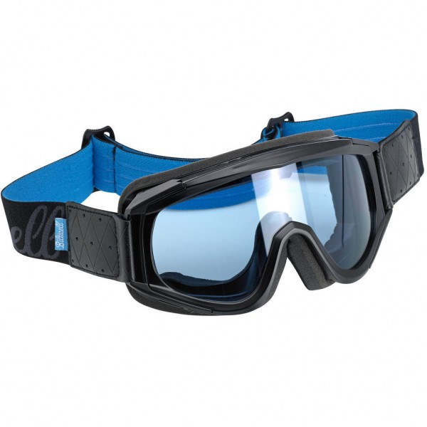 "BILTWELL Cross Brille - ""Overland Goggle Black Blue"""