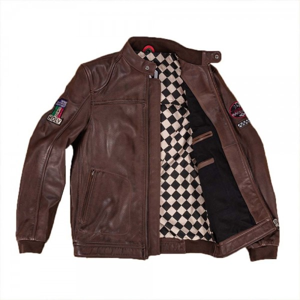 """HOLY FREEDOM Jacket - """"Due"""" - brown"""