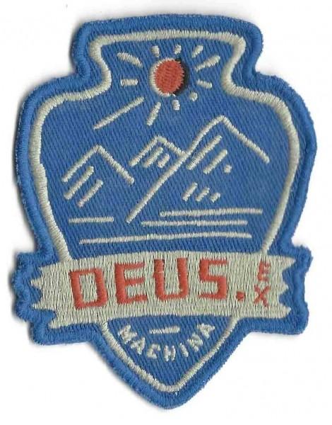 """DEUS EX MACHINA Aufnäher - """"Blue Mountains"""""""