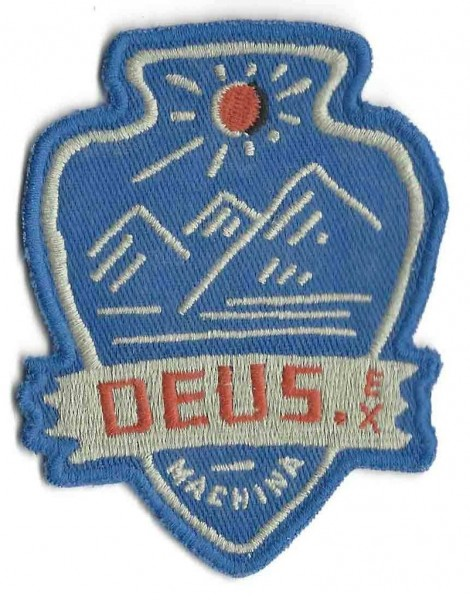 "DEUS EX MACHINA Patch - ""Blue Mountains"""