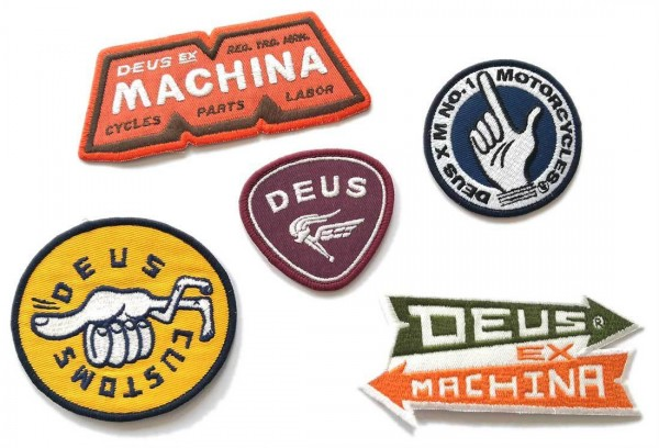 "DEUS EX MACHINA Patches - ""Patch Pack Four"" - set of 5 patches"