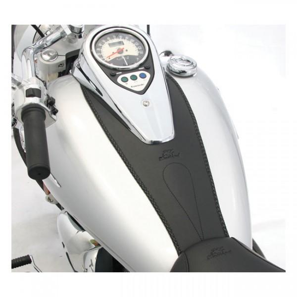 "MUSTANG Sitz - ""Mustang tank bib plain black"" - Kawasaki Vulcan VN 900 (excl LT models)"