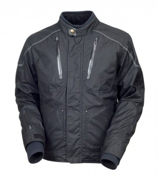 "ROLAND SANDS Jacket - ""Edwards"" - black waterproof"