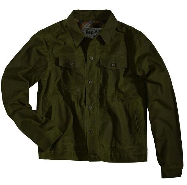 """ROKKER Jacke - """"Wax Cotton Jacket"""" - grün"""