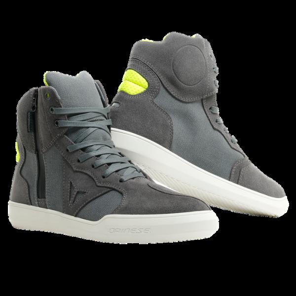 """DAINESE Motorrad Sneaker - """"Metropolis D-WP®"""" - wasserdicht, grau & gelb"""