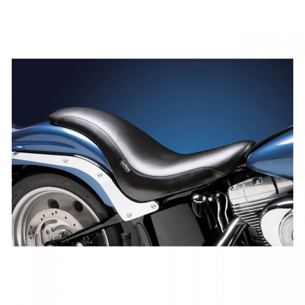 """LEPERA Sitz - """"King Cobra 2-up seat. Smooth"""" - 06-17 Softail with 200mm rear tire (fender mounted) ("""