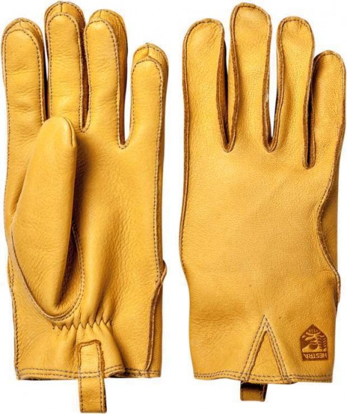 """HESTRA Gloves - """"Mora"""" - natural yellow"""