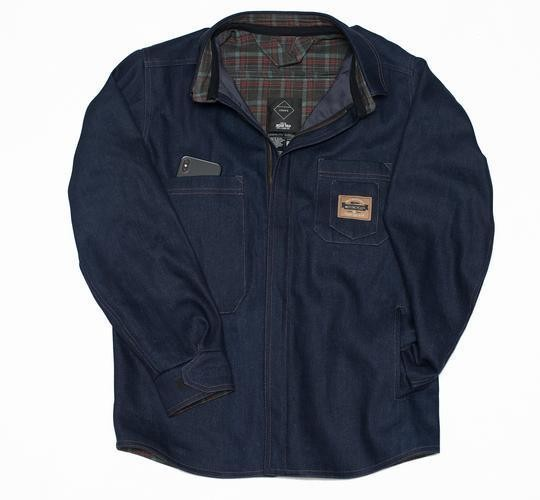 "CRAVE FOR RIDE Jacket - ""Montana"" - blue"