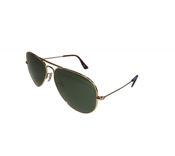 JOHN DOE Aviator Brille mit goldenem Rahmen