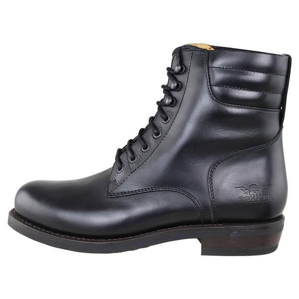 "ROKKER Motorcycle Boots - ""Frisco Racer 8"""" - black"