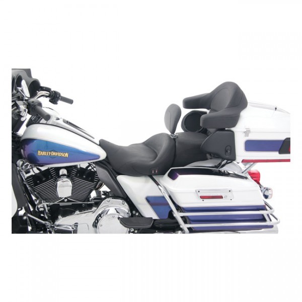 """MUSTANG Sitz - """"Mustang, Super Touring seat. With rider backrest. Heated"""" - 08-20 Touring"""