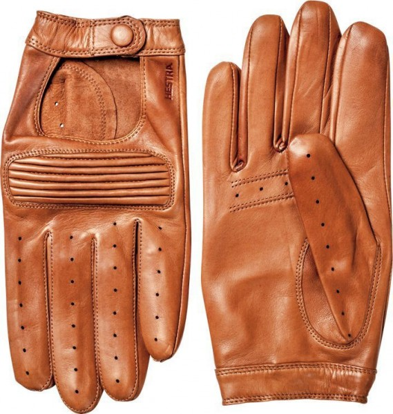 "HESTRA Handschuhe - ""Steve"" - hellbraun"