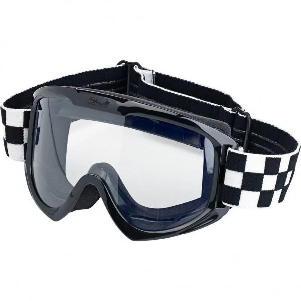 """BILTWELL - """"Moto Goggle Checkers"""""""