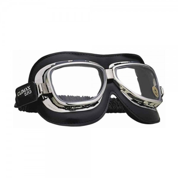 "CLIMAX Goggles - ""510"" - chrome & black"