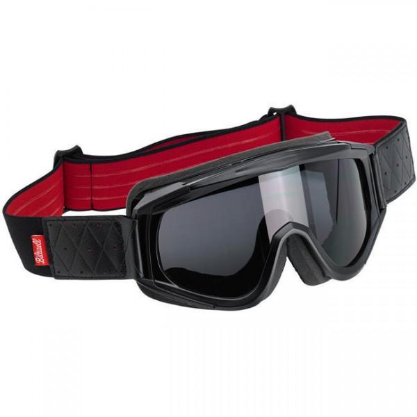 "BILTWELL - ""Overland Goggle Black Red"""