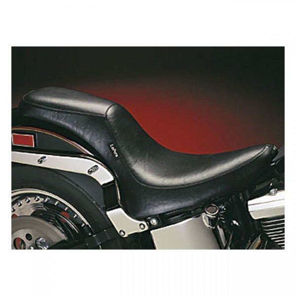 """LEPERA Seat - """"LePera, Silhouette 2-up seat. Gel"""" - 00-17 Softail with up to 150mm tire (excl. Deuce) (NU)"""