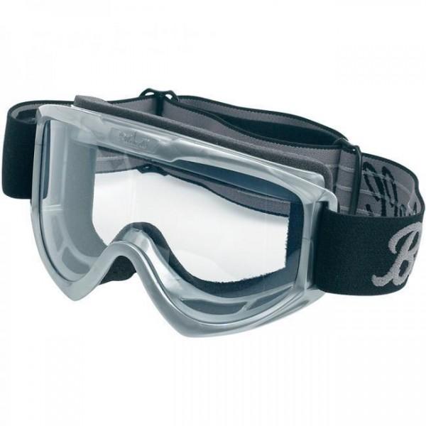 "BILTWELL Cross Brille - ""Moto Goggle Grey"""