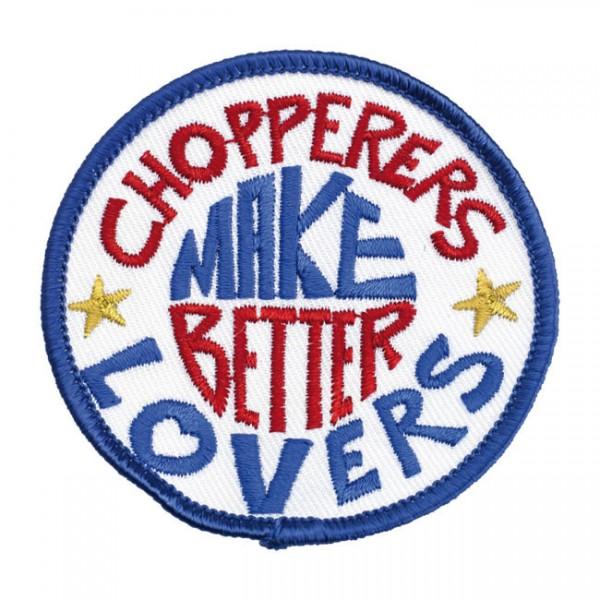"""BILTWELL Aufnäher - """"Choppers Make Better Lovers"""""""
