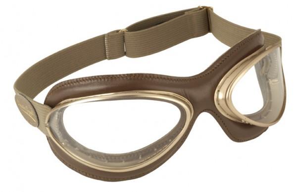 "AVIATOR Brille - ""Mod. 4602 MCD"" - brown & gold"